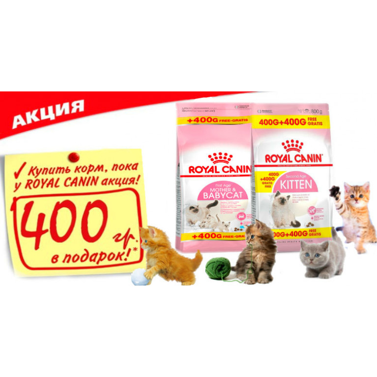 Royal Canin 400+400*