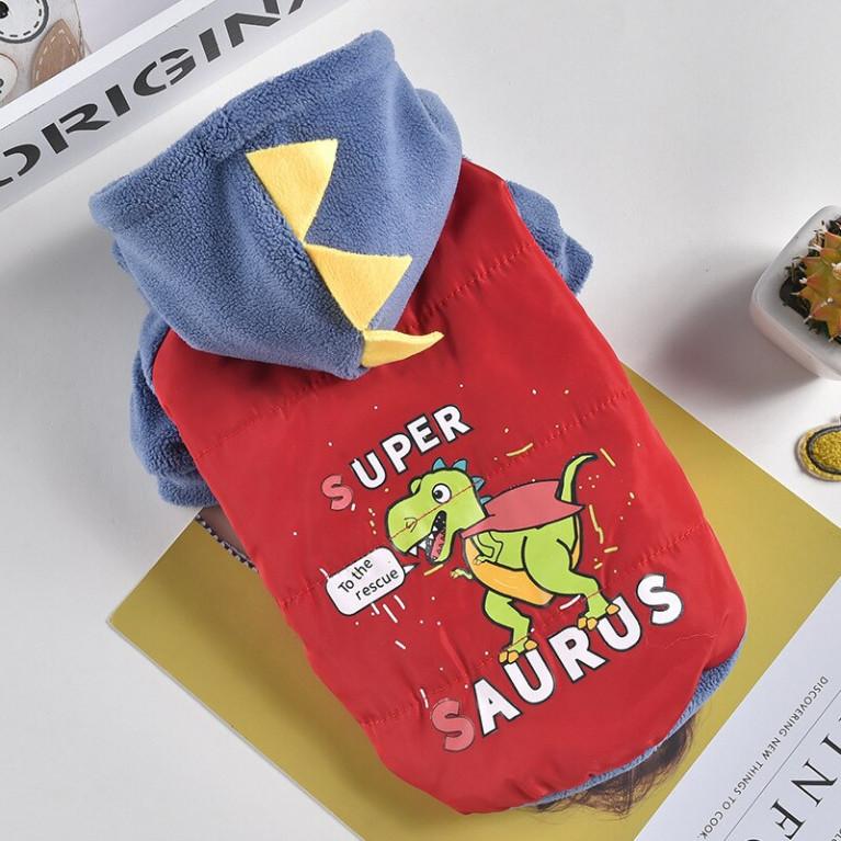 Жилетка Super Saurus красная