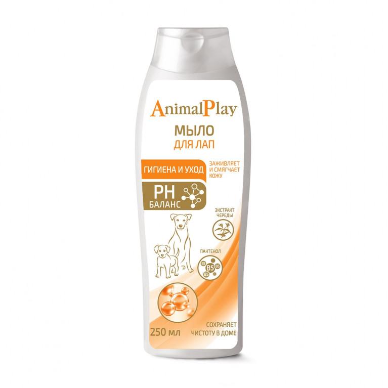 Animal Play Мыло для мытья лап собак с D-пантенолом и экстрактом череды жидкое 250мл
