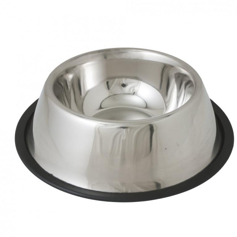 Миска Райнтех Кокер Спаниель из нержавеющей стали на резинке 15,5 см 180мл /ASCR-12/