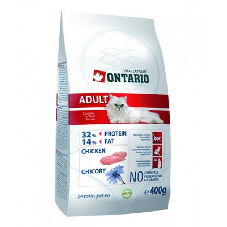 ONTARIO Adult  Сухой корм для  кошек (курица)