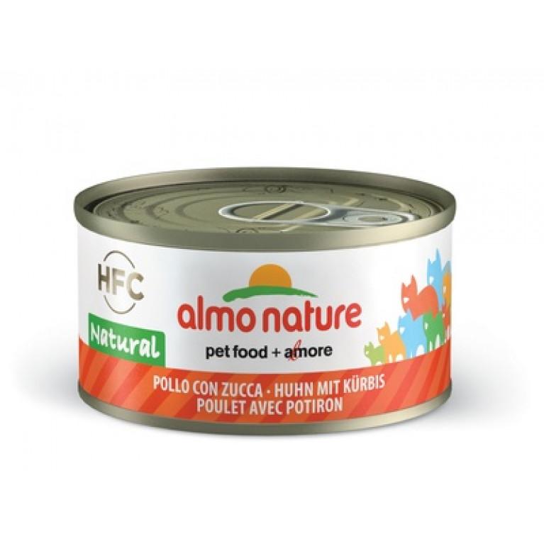 Almo Nature Legend HFC Adult Cat Chicken&Pumpkin Консервы для Кошек с Курицей и Тыквой 70 г