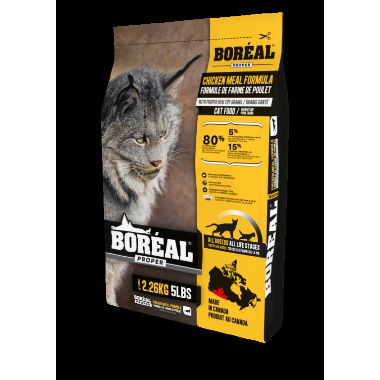 BOREAL PROPER Корм для кошек всех пород и возрастов с курицей