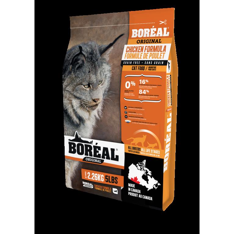 BOREAL ORIGINAL Корм для кошек всех пород и возрастов с курицей