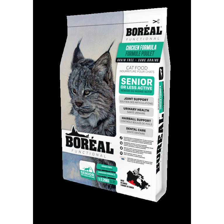 BOREAL FUNCTIONAL Корм для пожилых и малоактивных кошек всех пород с курицей