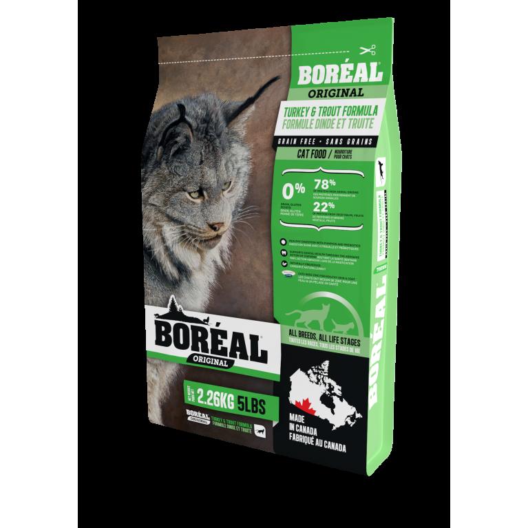 BOREAL ORIGINAL Корм для кошек всех пород и возрастов с индейкой и форелью