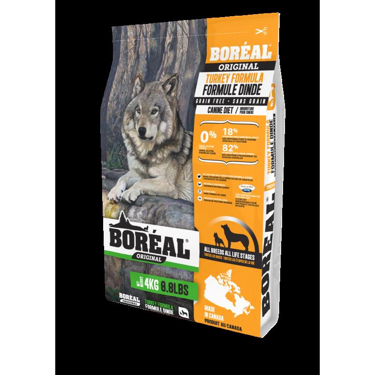 Boreal Original сухой корм для собак всех пород и возрастов с индейкой