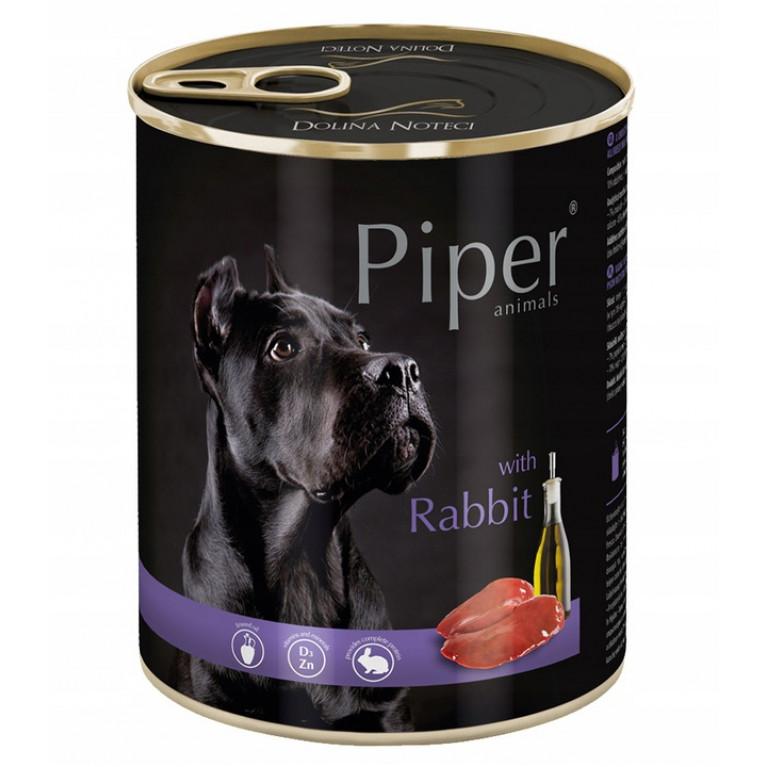 DOLINA NOTECI PIPER Консервы для собак с кроликом 800 гр