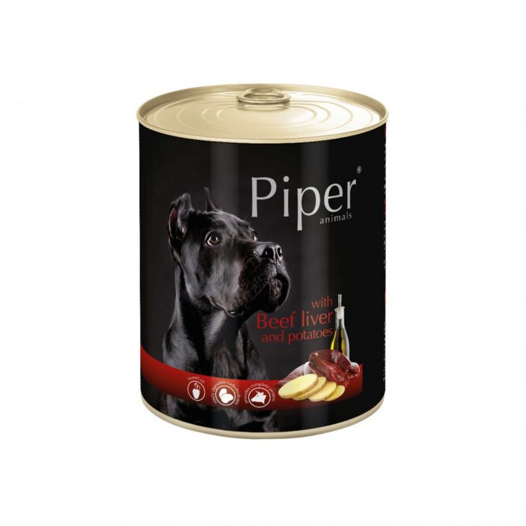 DOLINA NOTECI PIPER для собак с говяжьей печенью и картофелем 800 гр