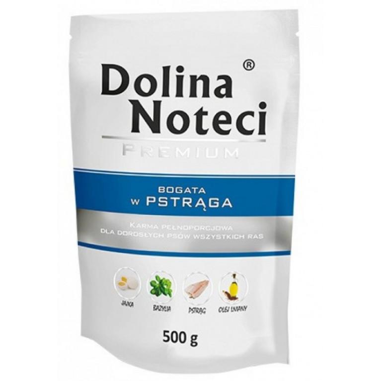 Dolina Noteci DN PREMIUM SPIDER TROUT ПРЕМИУМ Влажный корм для собак (Форель) 500г