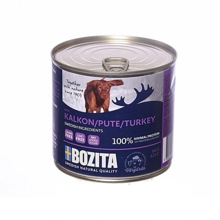 Bozita Консервы для собак паштет Индейки 625 г
