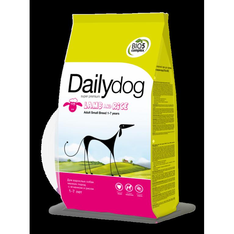 DailyDog ADULT LARGE BREED Lamb and Rice Корм супер премиум класса для собак крупных пород с ягненком и рисом