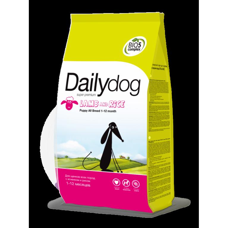 Dailydog PUPPY ALL BREED Lamb & Rice Сухой корм для щенков всех пород с бараниной и рисом