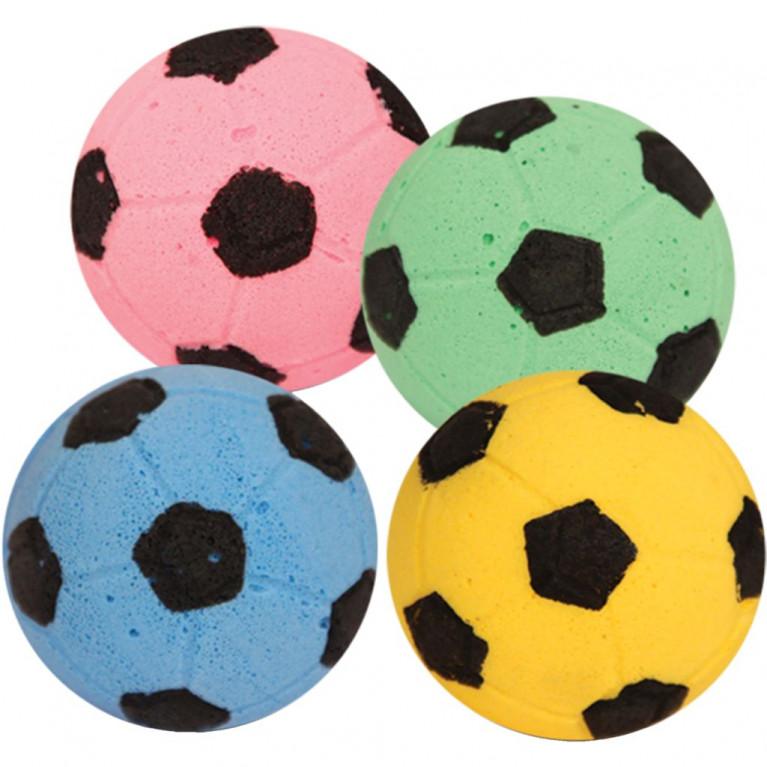 Игрушка мяч футбольный зефирный Триол 45мм