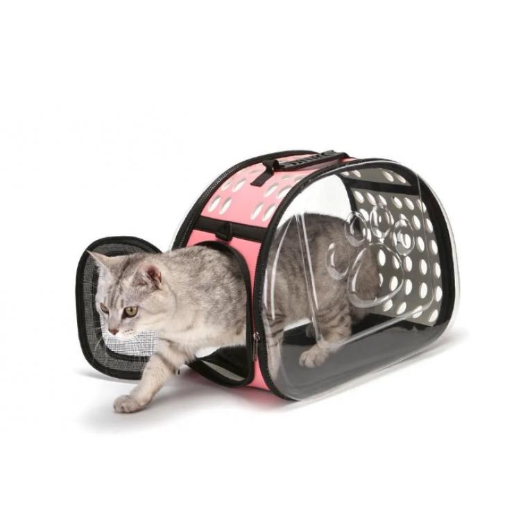 Складная сумка переноска для собак и кошек