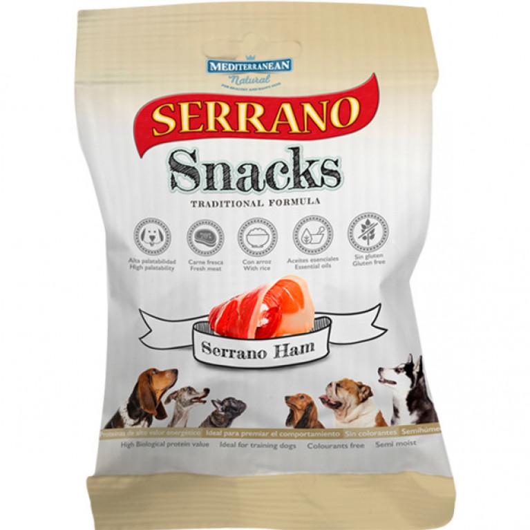 Serrano Snacks лакомство для собак снеки из испанской ветчины 100 гр.