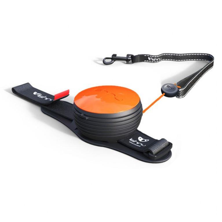 Lishinu поводок-рулетка для собак, неоновый оранжевый