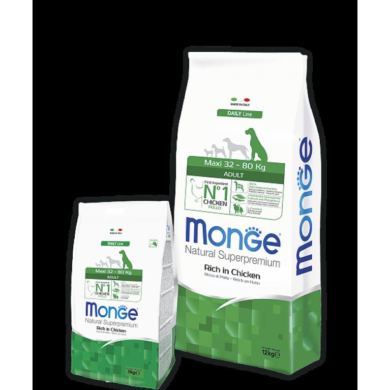 Monge Dog Daily Line Maxi корм для взрослых собак крупных пород