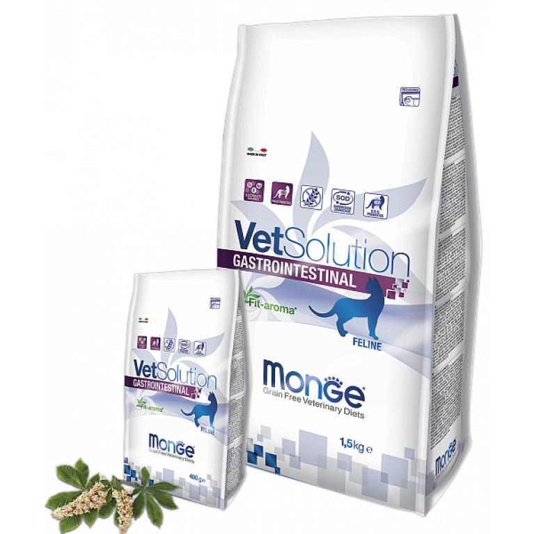 Monge VetSolution Cat Gastrointestinal диета для кошек при заболеваниях ЖКТ