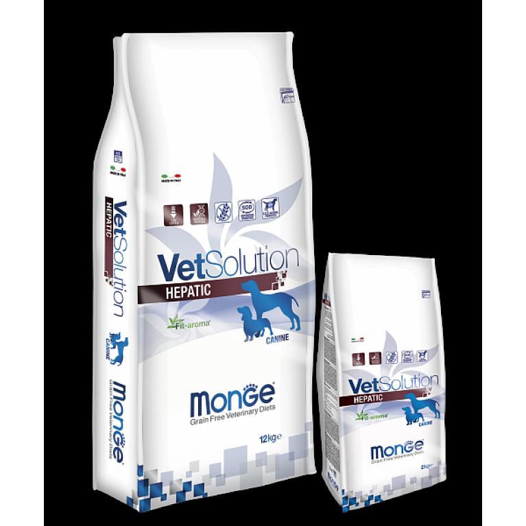 Monge VetSolution Dog Hepatic Диета при заболеваниях печени у собак