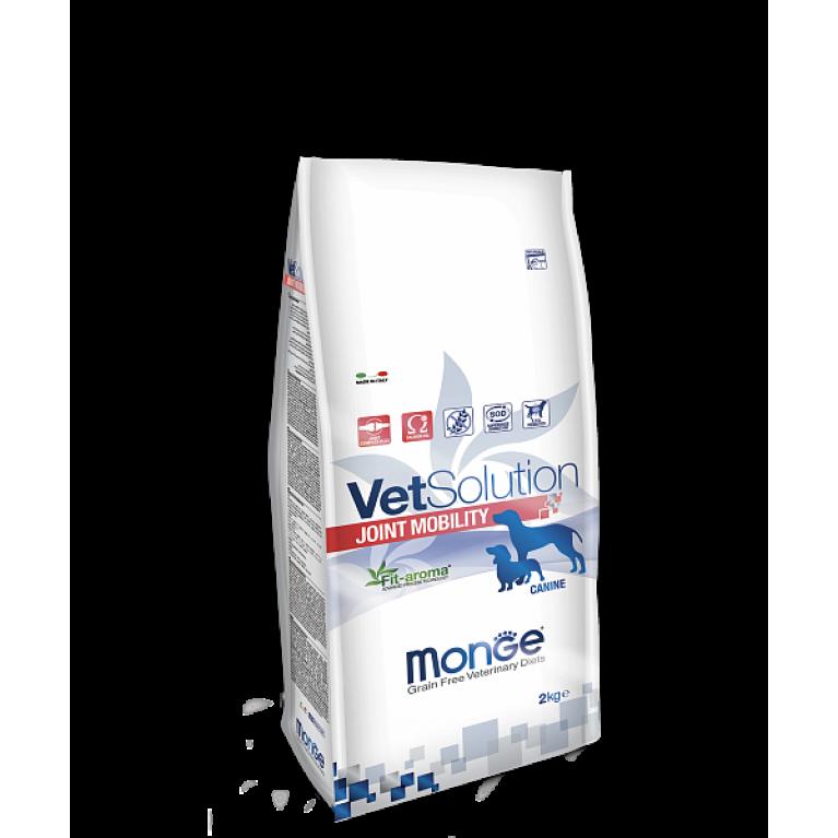 Monge VetSolution Dog Joint Mobility Диета для поддержания здоровья суставов при остеоартрите у собак