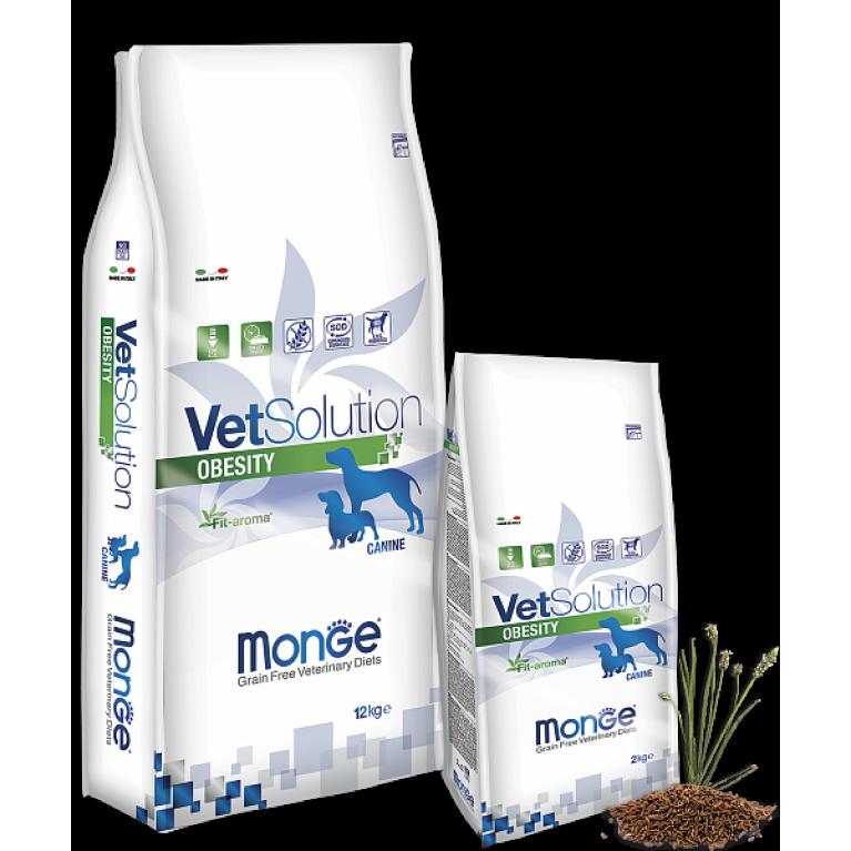 Monge VetSolution Dog Obesity Диета для снижения избыточной массы тела у собак Курица
