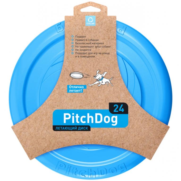 PitchDog летающий диск 24 см