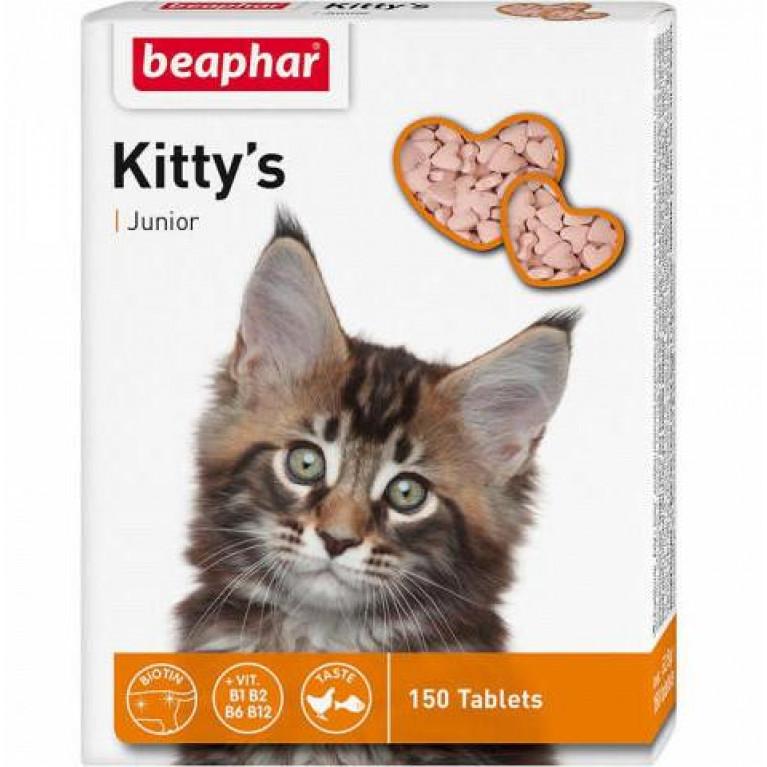 Beaphar Kitty's Junior  витамины для котят 150 таб.