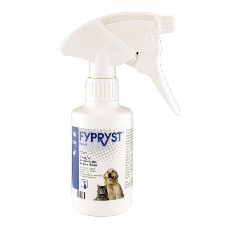Fypryst Spray (Фиприст Спрей) - Противопаразитарный спрей  для собак и кошек