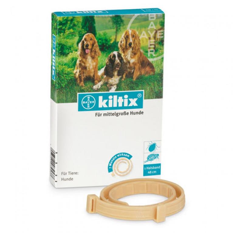 Kiltix Килтикс ошейник  для собак средних пород, 48 см.