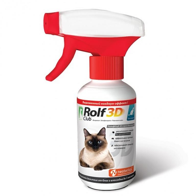 Rolf Club Рольф Клуб спрей для кошек 200 мл