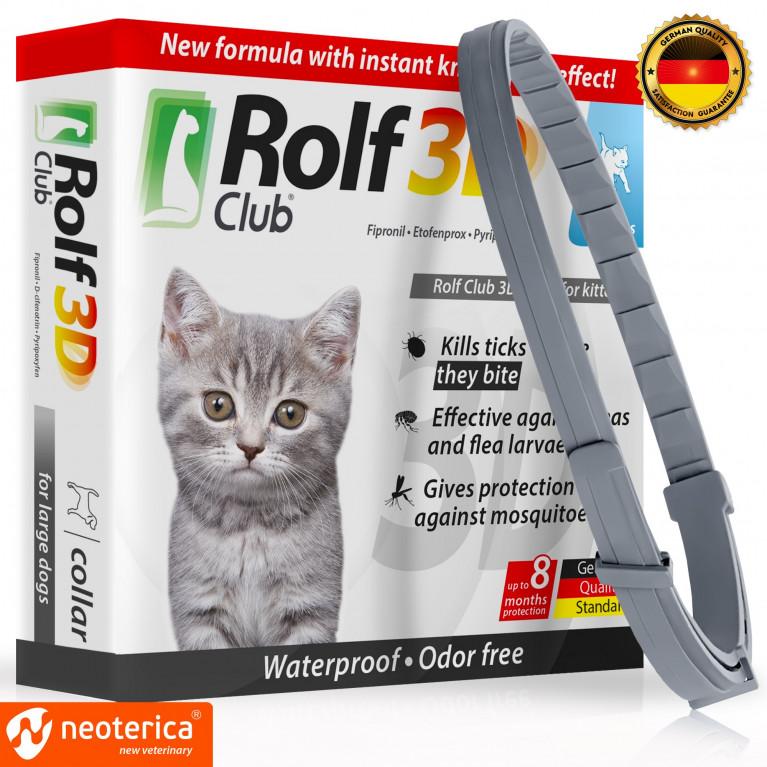 Rolf Club 3D Рольф клуб 3D ошейник для котят (40 см)