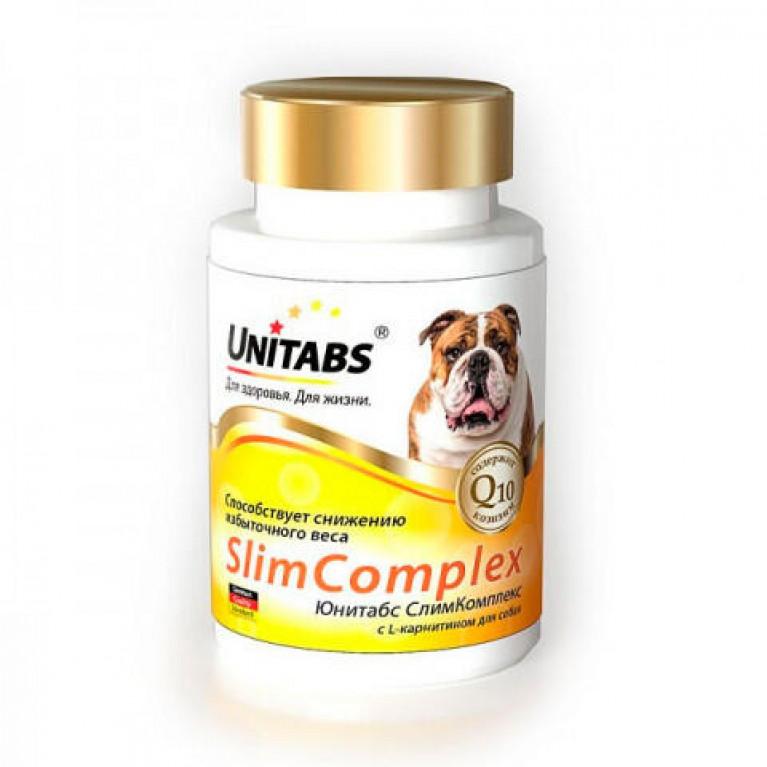 Unitabs Slim Complex Юнитабс Слим Комплекс витамины для собак для снижения избыточной массы тела.
