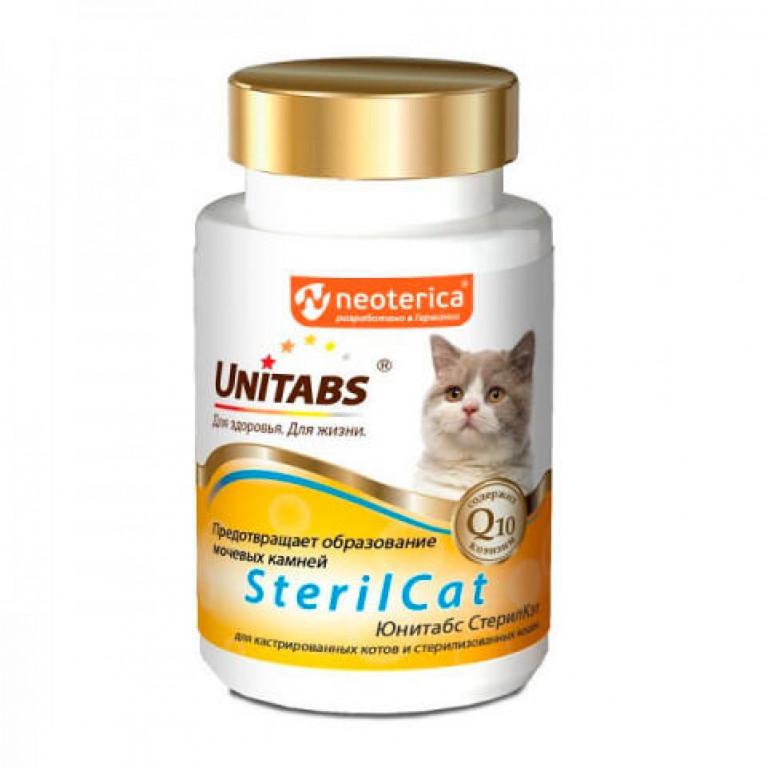 Unitabs Steril Cat Юнитабс Стерил Кэт для стерилизованных котов  и  кошек