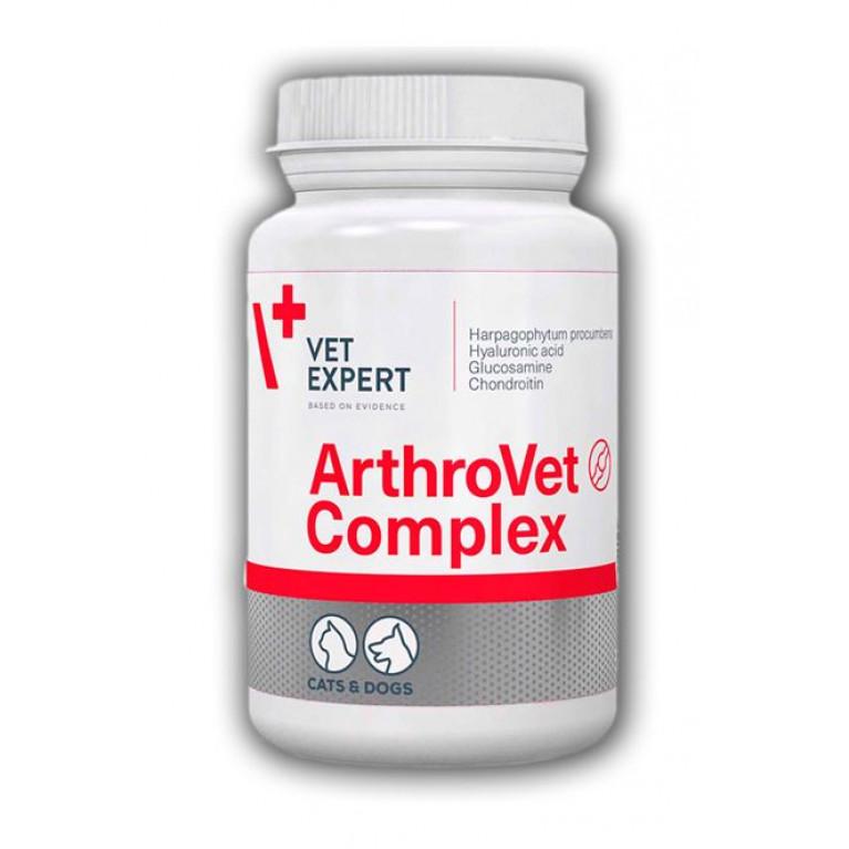 ArthroVet HA Complex, Артровет Комплекс с гиалуроновой кислотой Vetexpert, 90 табл.