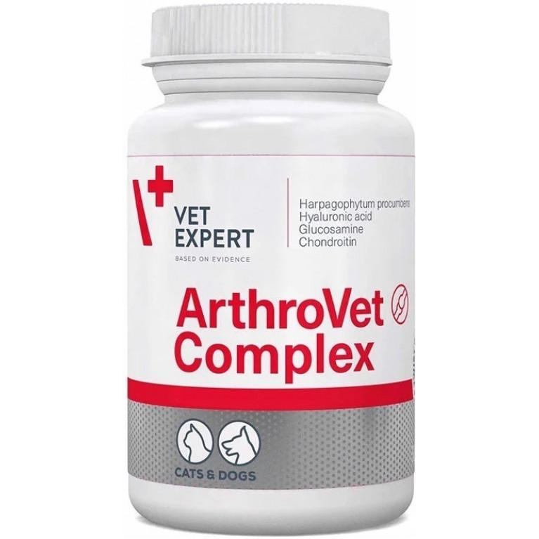 ArthroVet HA Complex, Артровет Комплекс с гиалуроновой кислотой Vetexpert, 60 табл.