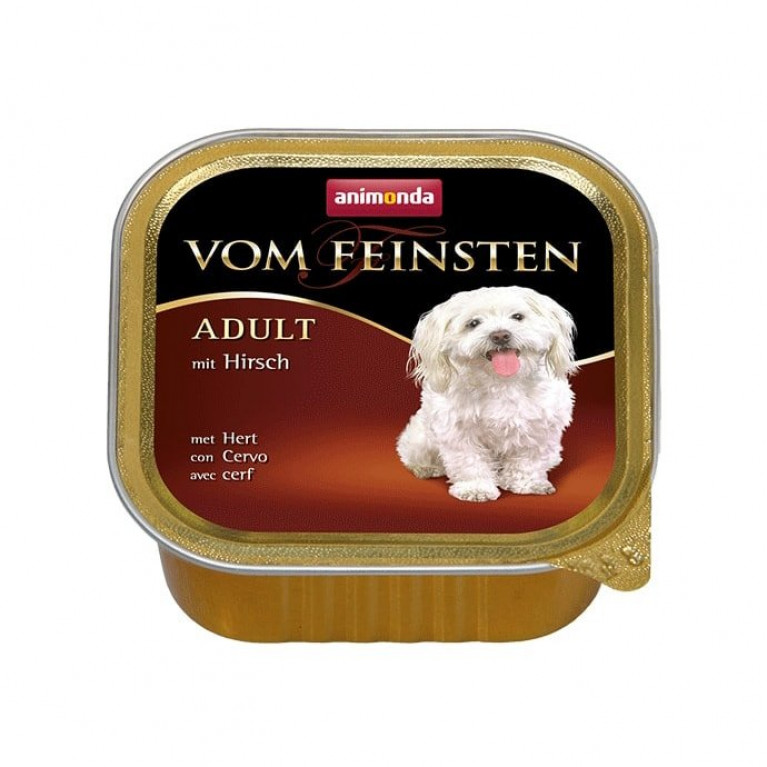 Анимонда 150гр Vom Feinsten Adult консервы для собак с олениной