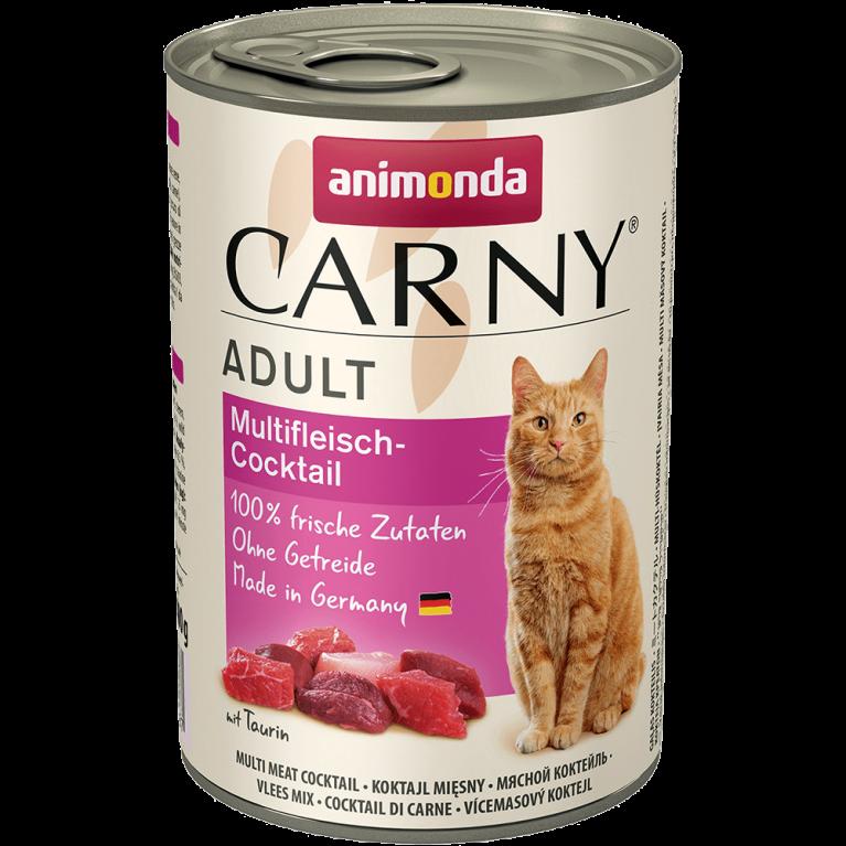 Animonda Carny Adult  консервы для взрослых кошек Коктейль из разных сортов мяса 400г
