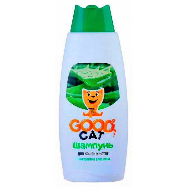 GOOD CAT  Шампунь для кошек и котят с экстрактом Алоэ Вера 250 мл
