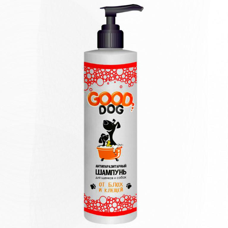 GOOD DOG Антипаразитарный шампунь для щенков и собак 250 мл