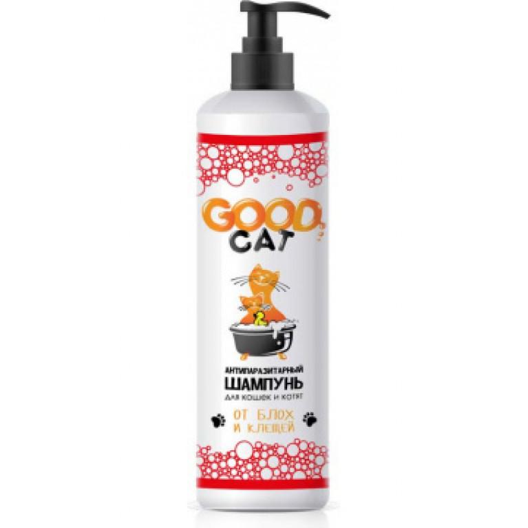 GOOD CAT Антипаразитарный шампунь для кошек и котят 250 мл