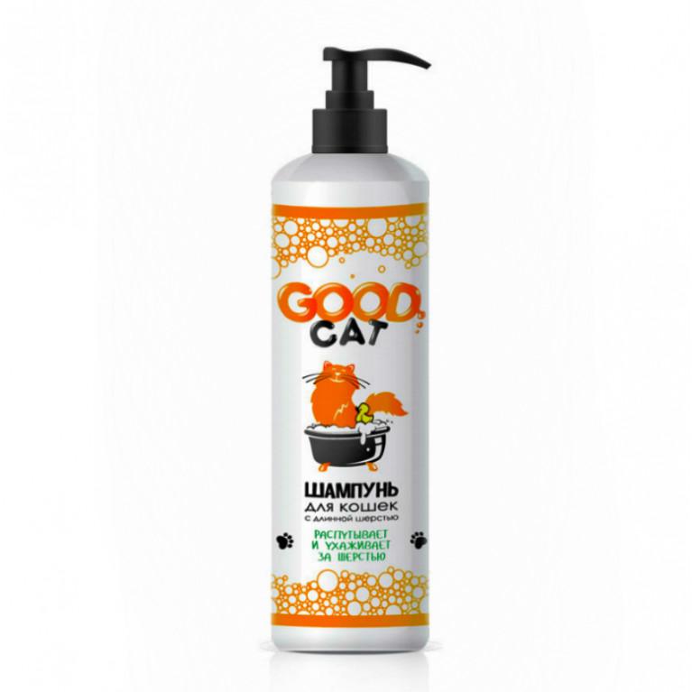 GOOD CAT Шампунь для кошек с длинной шерстью 250 мл