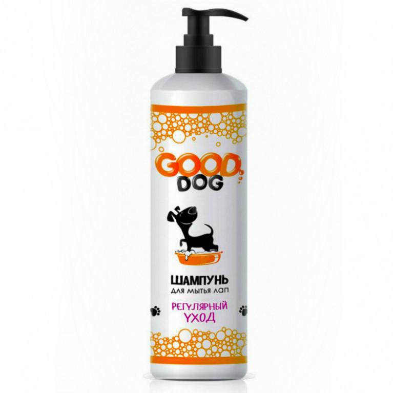 """GOOD DOG Шампунь для мытья лап """" Регулярный уход"""" 250мл"""