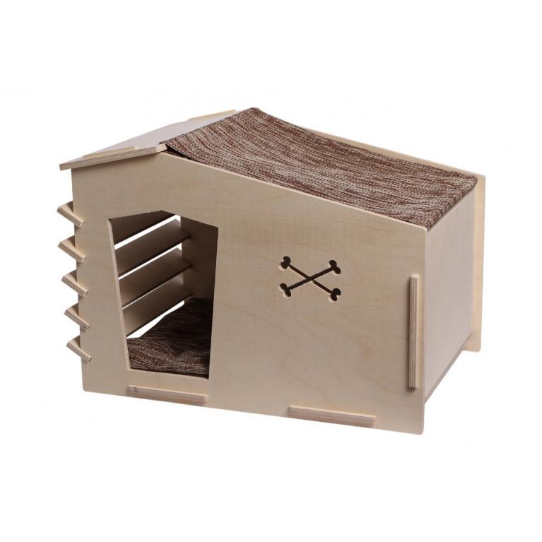 Будка для собак мелких пород FK005