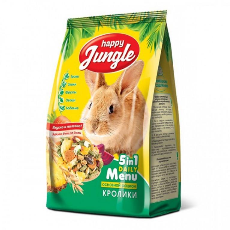Happy Jungle Корм д/кроликов 400гр