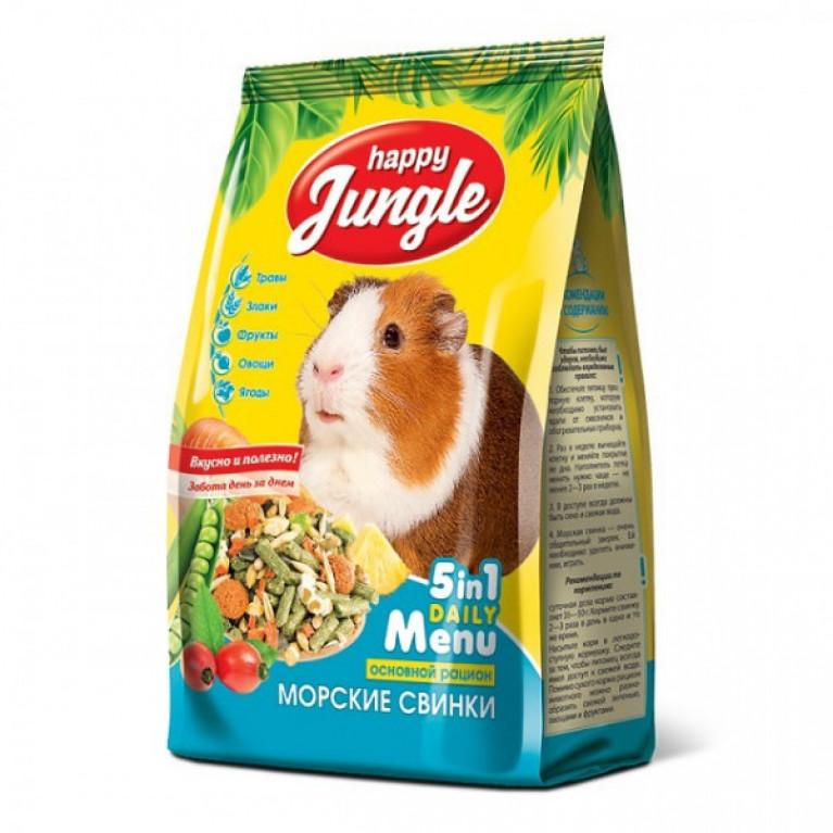 Happy Jungle Корм д/морских свинок 400гр