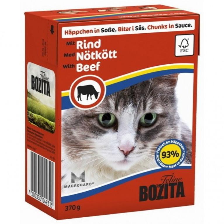 Bozita Консервы для кошек (говядина) 370 г