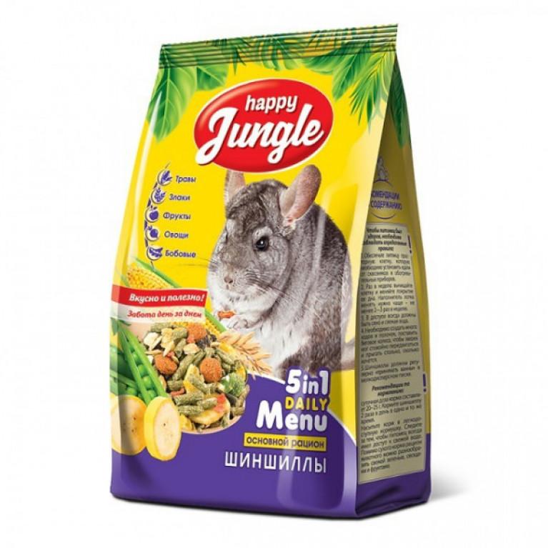 Happy Jungle Корм д/шиншилл 400гр