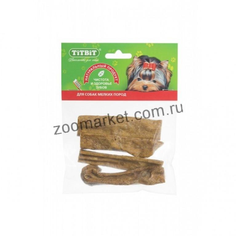TiTBiT Лакомство Вымя говяжье  (мягк. уп.) 150г
