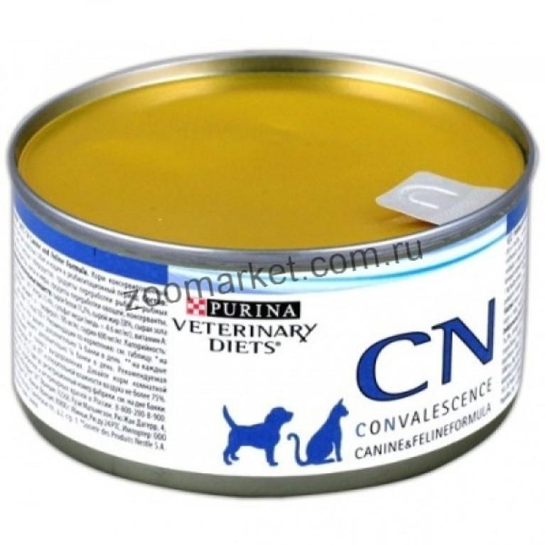 Purina Veterinary Diets CN Консервы для кошек и собак для восстановления и выздоровления, 195 гр.